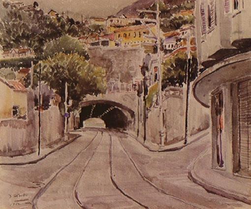 Yoshia Takaoka (Brasil) Tunel alaor prata, 1952