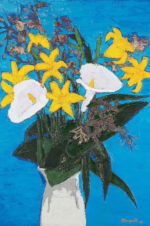 Ivan Marquetti, Floress, 1988, ost, 75 x 50 cm