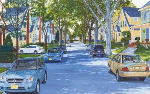 Jessica Rohrer (EUA, 1974) 2014-Street-Center-12x19, osp