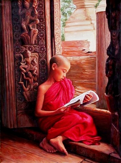 Aung Kyaw Htet (Mianmar, 1965) Studying
