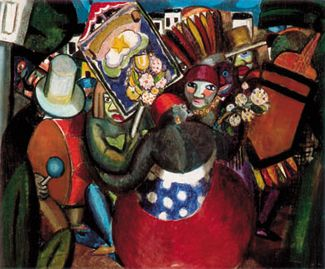 Di CAVALCANTI, 1924, Carnaval