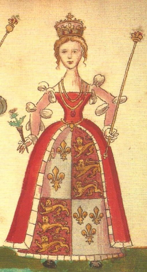 Joan Beaufort, Queen of Scotland, wife of King James I