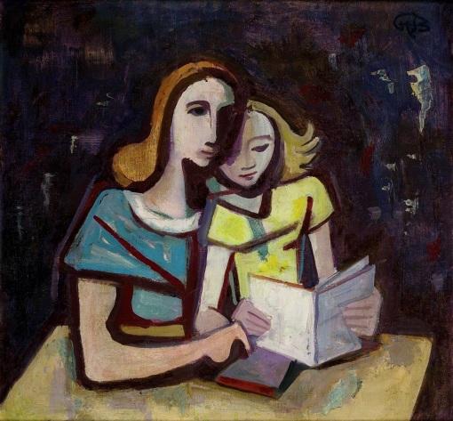 Karl Hofer. Lesestunde (1953)