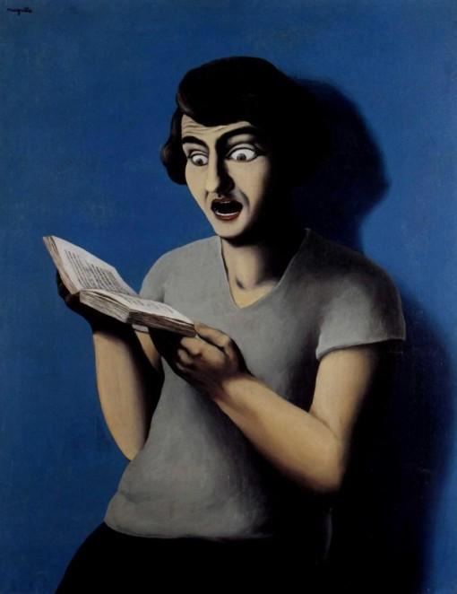 René Magritte La lectrice