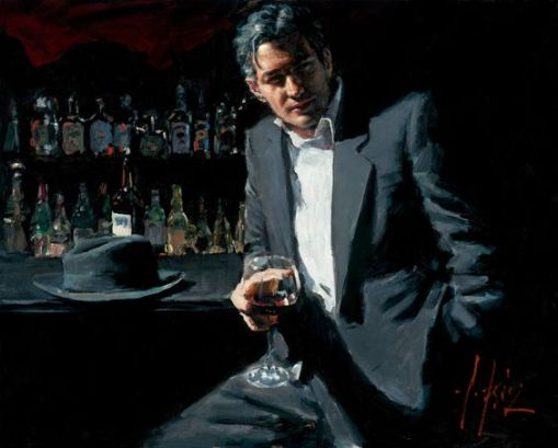 Black Suit, red wine, Perez