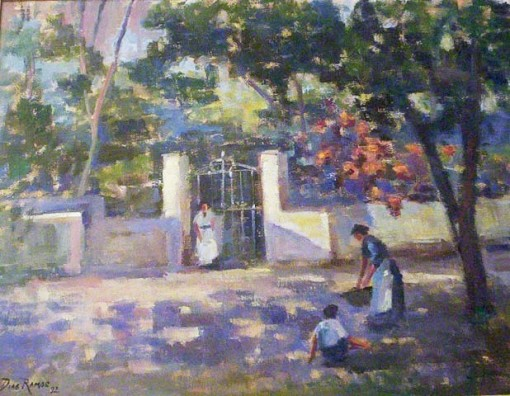 Dias Ramos, Itapecerica da Serra (1992),Óleo sobre tela,50 x 65 cm