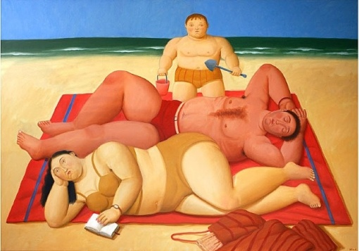 fernando-botero-the-beachfernando-botero-the-beach-2009
