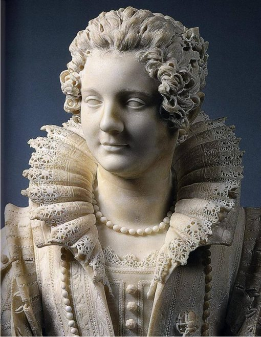 Giuliano Finelli, Maria Duglioli Barberini, 1626 c., Paris, Musée du Louvre, marbre