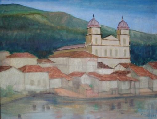 JOSÉ PROCÓPIO DE MORAES - Pirapora - ost - 50x64 cm