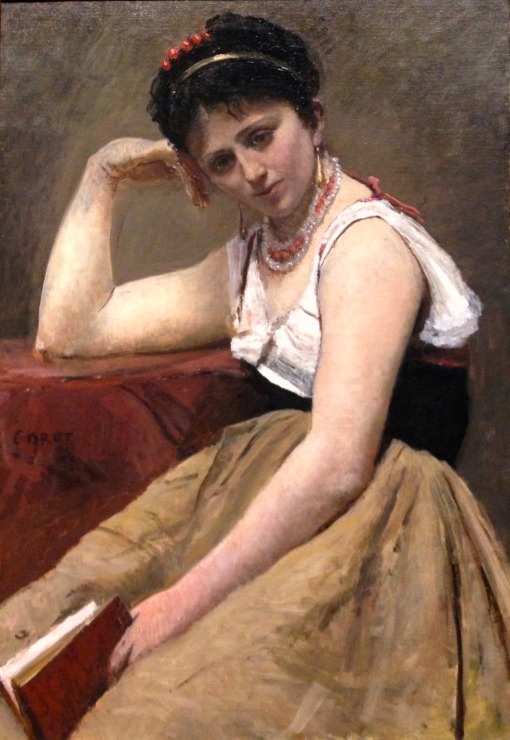 corot, interrupted reading