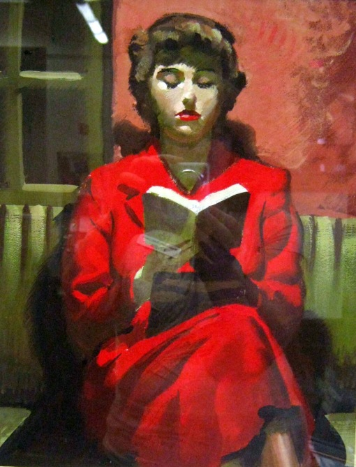 George Seton Coggeshall (EUA, 1914-1994) girl in red
