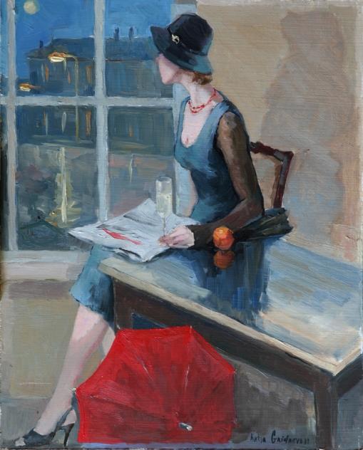 Katya Gridneva (Ucrânia, 1965) espera, ost