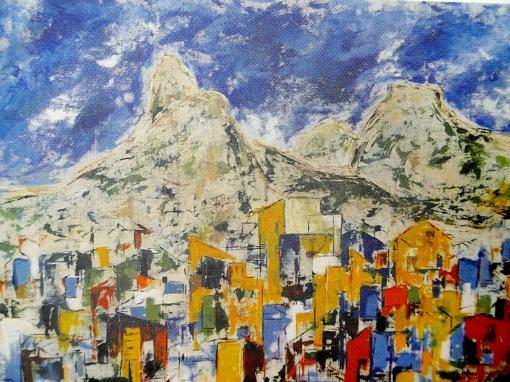 ANA VILHENA, Alma Carioca, 2010, ast,85 x 136