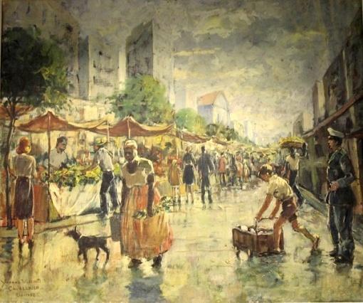 YVONE CAVALLEIRO, OST Rio, 64 x 53 cm, CIE, 1952