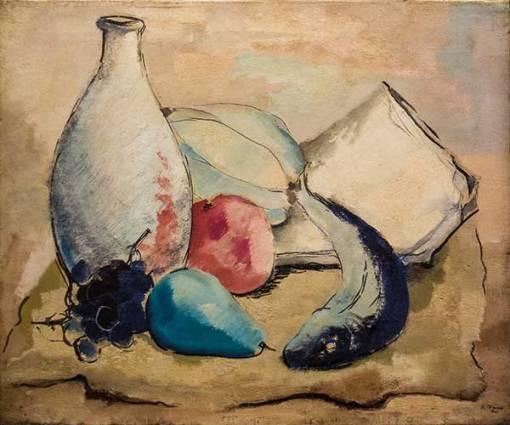 BIANCO, ENRICO,(1918-2013),Natureza Morta,ost,1941,46 x 55 cm