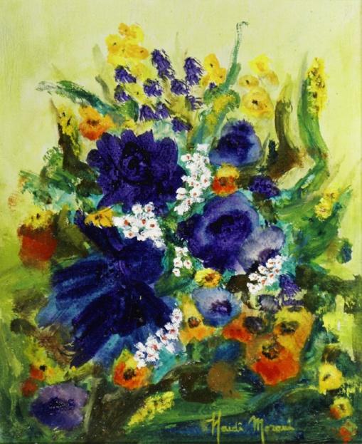 Haidê Morani,Recanto de um Jardim,27 x 22 cm – OST