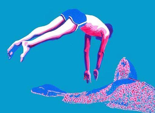 Glauco Rodrigues, salto ornamental,