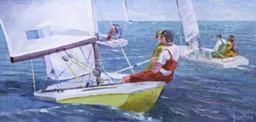 SERGIO BEBER- Sailing LXX - OST 20x40 cm - 2013 - A.C.I.D