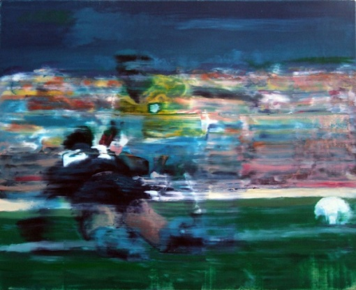TAIGO MEIRELES, OST Gol do Pelé, 50x61 cm, 2013, assinado
