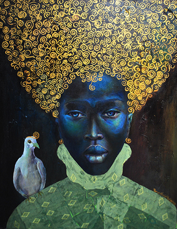 Tamara_Natalie_Madden's,_The Black Queen (2010) by Tamara Natalie Madden.