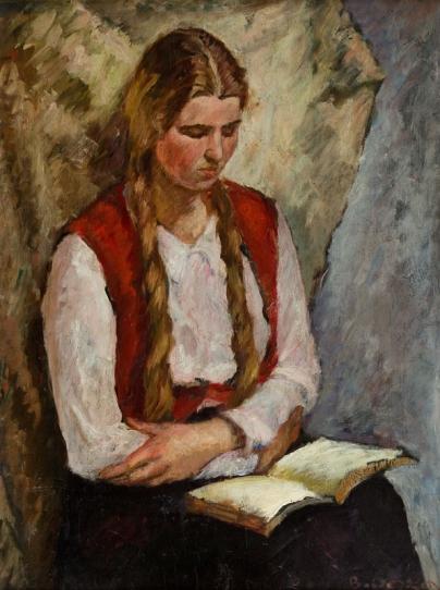 bertold-piotr-oczko-1910-1943mulher-lendo-osm-87-x-66-cm