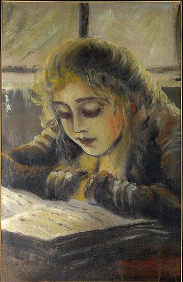 eugeniusz-eibisch-polonia-1895-1987-leitura-1953-tempera-guache-sobre-tela-48-x-31cm