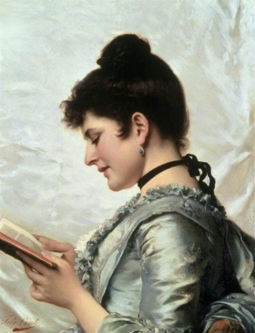 Tito Conti (1842-1924) - A good book
