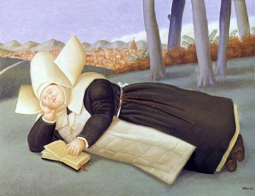 botero-fernando-nun-reading