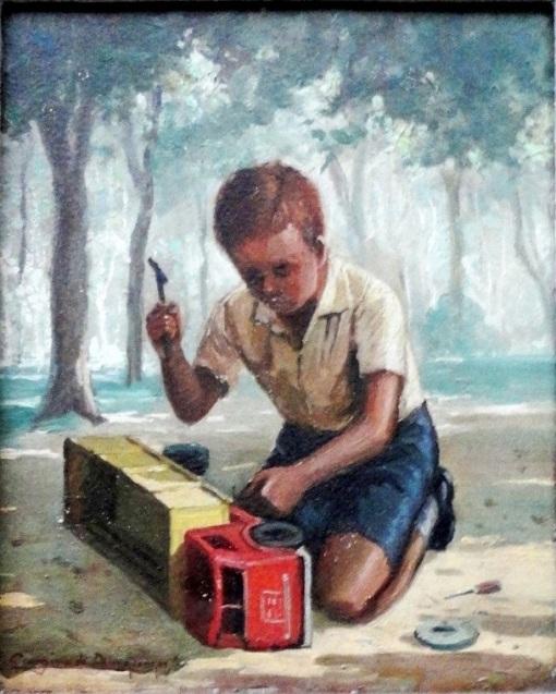 georgina-de-albuquerque-menino-ose-32x27cm-assinado