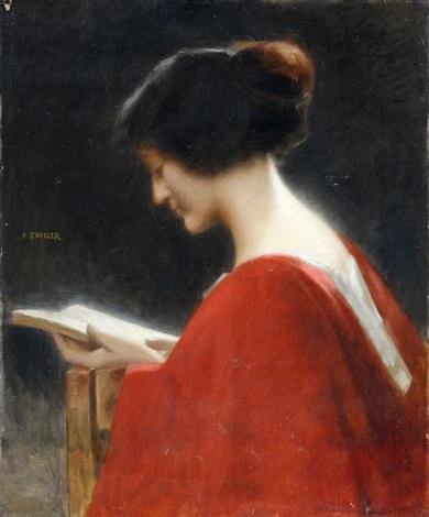 marie-augustin-zwiller-femme-a-la-lecturefranca1850-1939ost-61-x-50cm