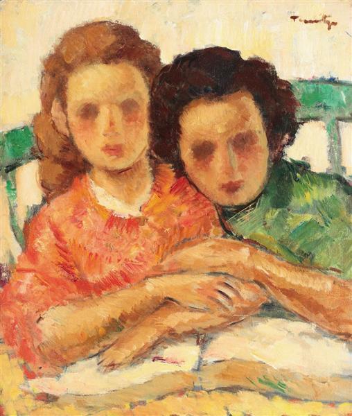 nicolae-tonitzaromenia-duas-irmas-1927