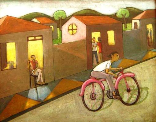 waldomiro-santanna-1952menino-na-bicicletaoleo-sobre-placa40-x-50-cm