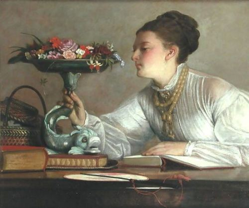 wiliam-frederick-yeames-flores-do-dia-c-1900-inglaterra1835-1918