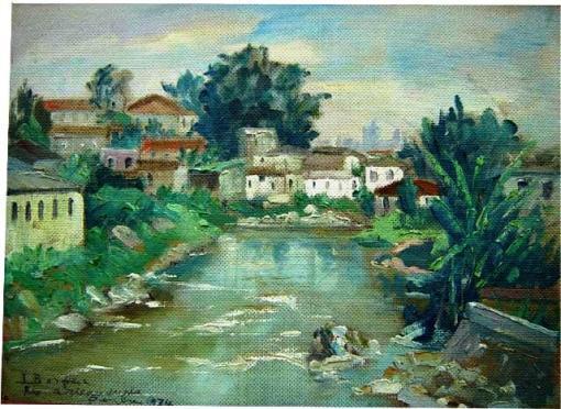 inocencio-borghese-1897-1985-rio-aricanduva-penha-1974osm30x40cm
