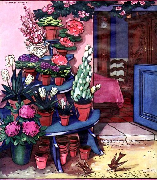 primavera-no-jardim-vasos-plantas-joseph-b-platthouse-and-garden-1926-03