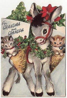burrinho-de-natal-com-2-gatinhos