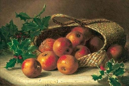 eloise-harriet-stannard-inglaterra-1829-1915-cesta-entornada-com-macas