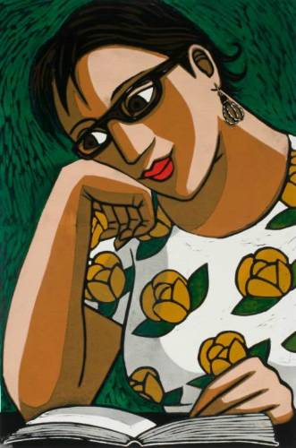 anita-klein-australia-1960-os-novos-oculos-de-leitura-gravura-60-x-40-cm