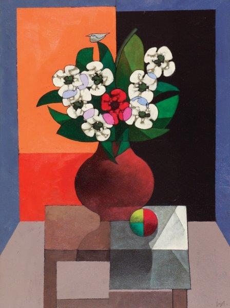 inos-corradin-1929-flores-com-fundo-alaranjado-ost-80-x-60