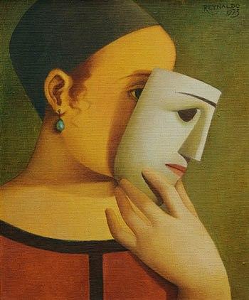 reynaldo-fonseca-1925-mulher-de-vestido-vermelho-com-mascaraoleo-s-tela-38-x-46-ass-sup-direito-1973