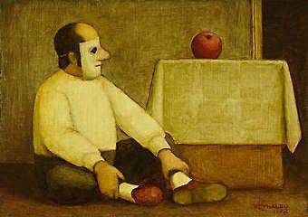 reynaldo-fonseca-brasil-1925-homem-mascarado-1972-oleo-sobre-placa-de-madeira-indutrializada-16-x-22-cm