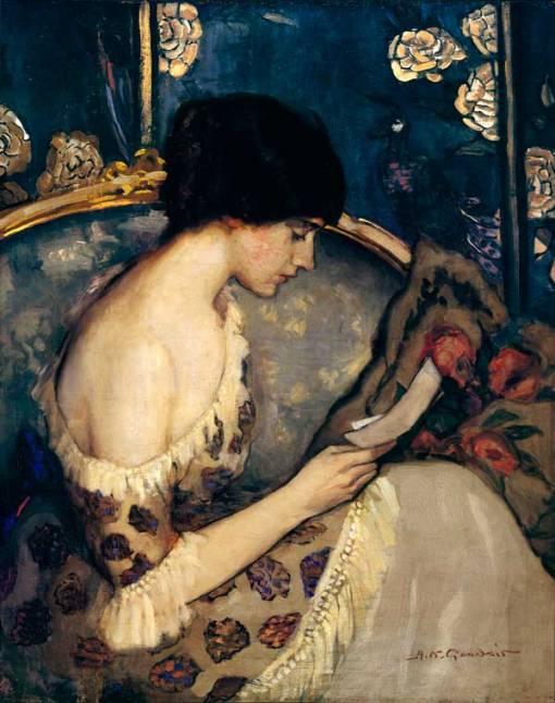 Agnes_Goodsir,(Austrália, 1864-1939) Carta do fronte, 1915, ost