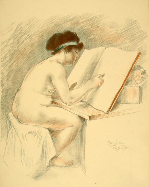 Armand Rassenfosse (1862 – 1934, Belgian)jovem feiticeira