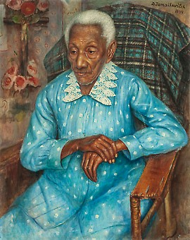 Dimitri Ismailovitch (1892-1976), Dedé, ost, 1944, 81x65