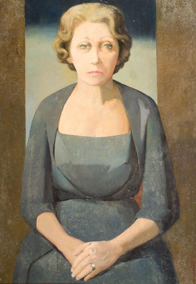 LYDIO BANDEIRA DE MELLO - (Brasil,1929)Figura - óleo sobre tela - 92 x 65 cm - 1960 -