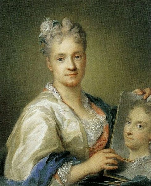 Rosalba_Carriera_Self-portrait