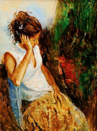 VIRGILIO DIAS (1956),Repouso[ filha do artista], 2006, ost, 160 x 120 cm