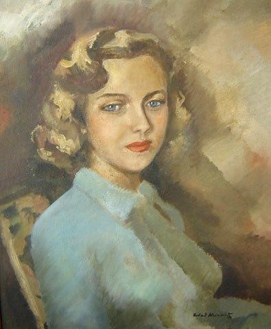 Wladimir Krivoutz (1904-1972)MulherÓleo sobre tela55 x 46 cm