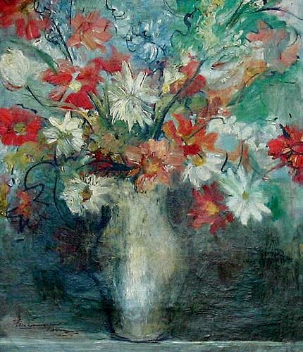 Iberê CamargoVaso de Flores OST45 x 35 Déc. 30