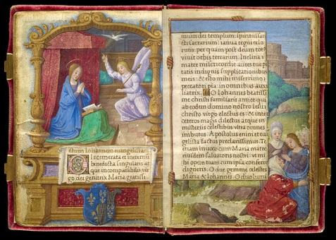 Interior-of-Queen-Claudes-Prayer-Book
